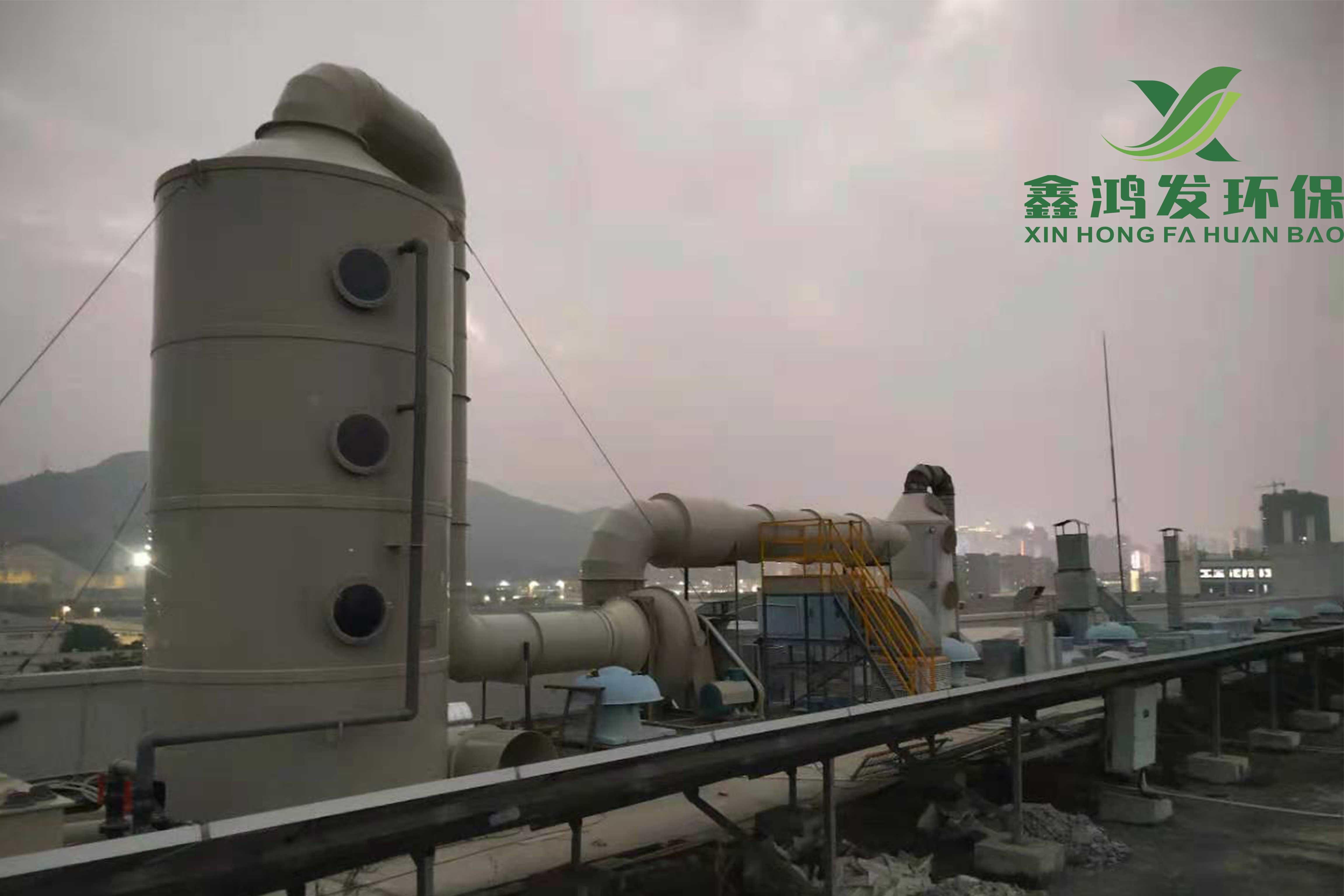 蚀刻线碱性废气处理工程