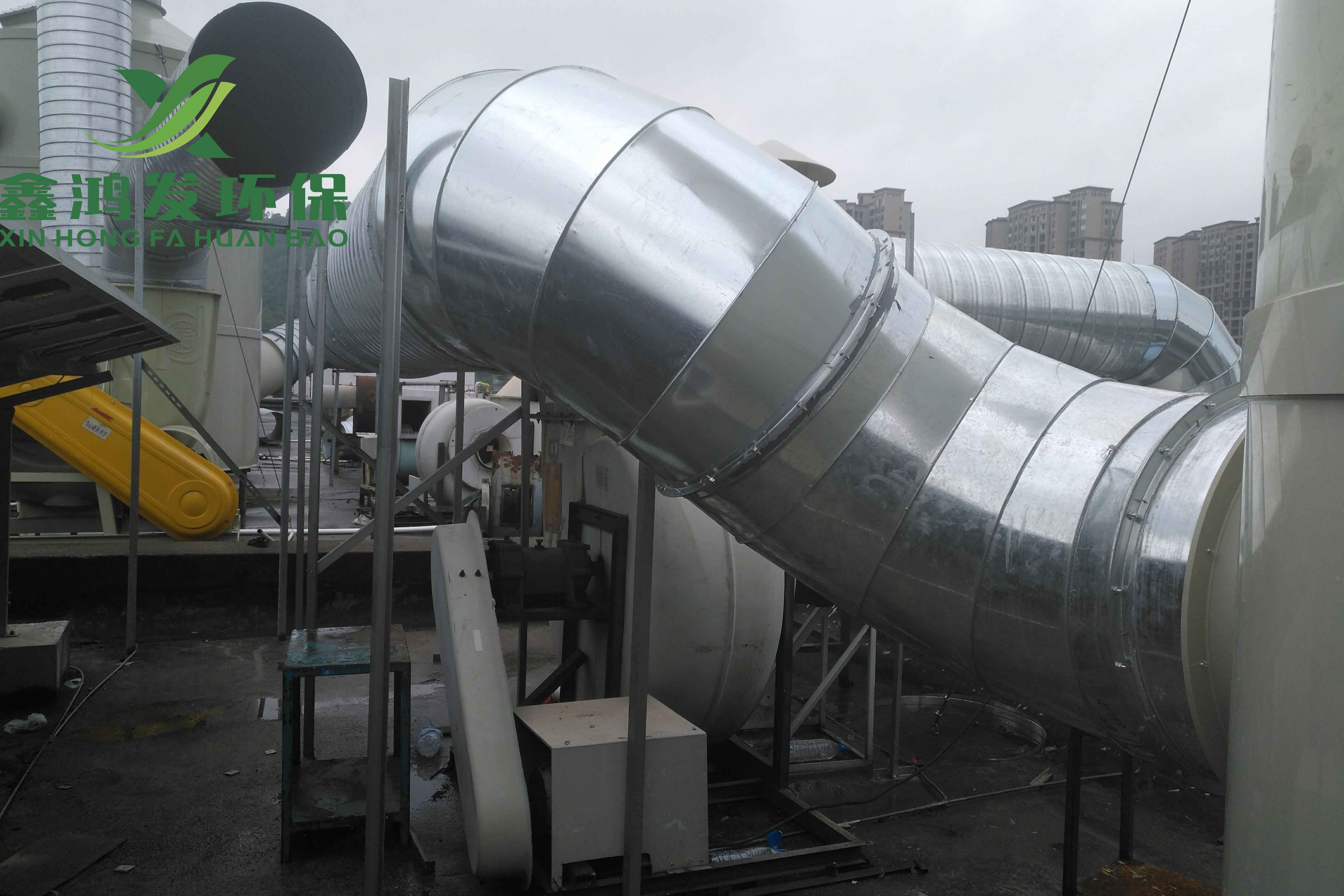 波峰焊、回流焊有机废气处理工程